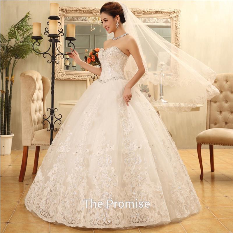 Vintage Wedding Dresses Pink : Vintage wedding dress romantic pink sweetangel princess church bridal