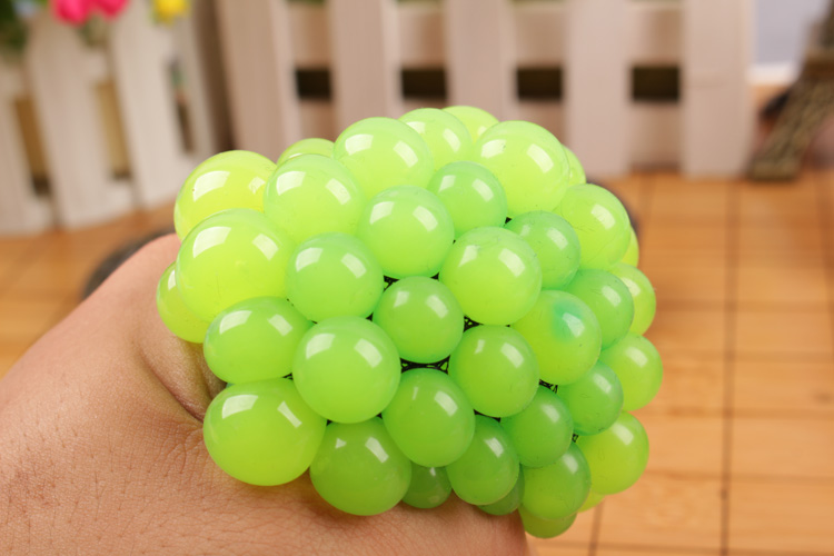 5CM Toy Balls Antistress Face Reliever Grape Ball Autism Mood Squeeze Relief Healthy Toys Fun Geek Gadget for Halloween Jokes(China (Mainland))
