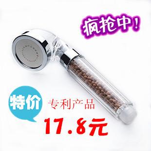 Negative ion shower heads pressurized water-saving shower nozzle shower single head shower