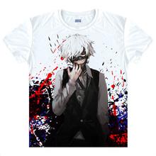 Tokyo Ghoul T-shirt kawaii Japanese Anime tshirt Handmade Manga Shirt Cute Cartoon Ken Kaneki Cosplay shirts 40398938927 tee 101
