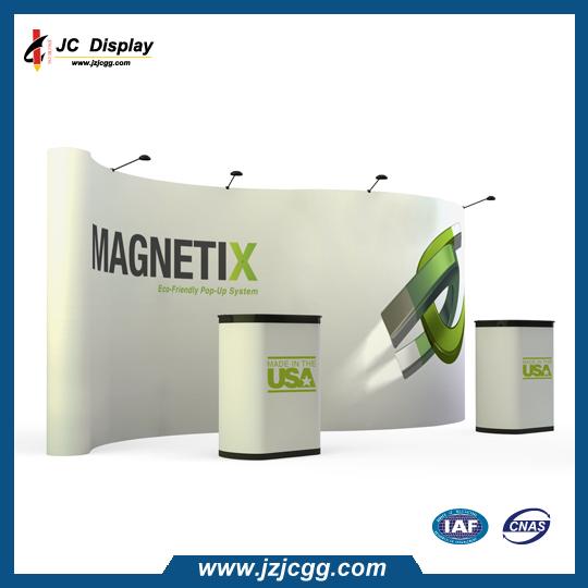 3*4 Velcro Fabric Pop Up Display in Aluminium Frame Backdrop Display(China (Mainland))