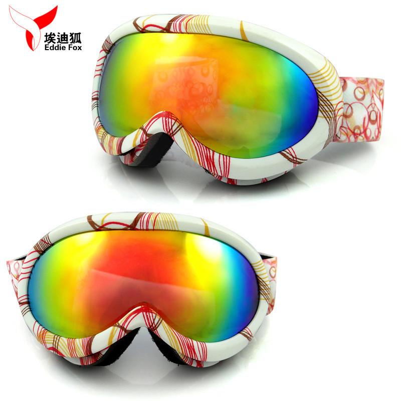 Children Ski Goggles Girls Boys REVO Plating Lens Kids UV400 Snowboard Water Resistance, Anti-fog Wear Outdoorsports