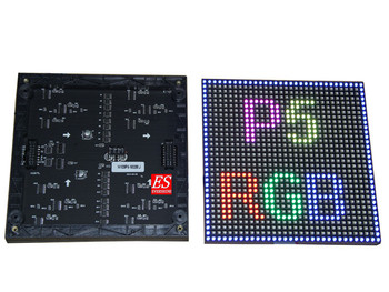 Free Shipping Indoor P5mm 1/16 Scan SMD3528 RGB LED display unit module  For TV Show /Entertainment
