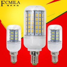 E14 LED Corn Lamp AC220V 24LEDS 36LEDS 48LEDS 56LEDS 69LEDS 72LEDS 96LEDS Lighting Warm white White Bulb - Jiangmen Top Family Articles Co,.Ltd store
