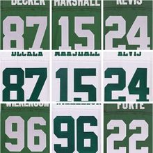 best quality,Men's Muhammad new Wilkerson Brandon green Marshall Darrelle white Revis Eric elite Decker jersey(China (Mainland))