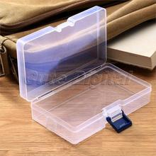 Transparent Plastic Storage Box for Cosmetics Jewelry Collection Cassette Cover jewelry Storage Case Home Storage Organization(China (Mainland))