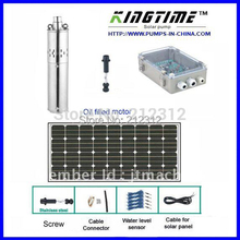 water solar system, panel solar, submersible pump solar,  free shipping, 5years warranty Model No.:JS4-3.6-80(China (Mainland))