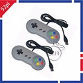 2PCS Lot Super Nintendo SNES USB Controller Game Pad Joypad Joystick for PC Raspberry Pi 3