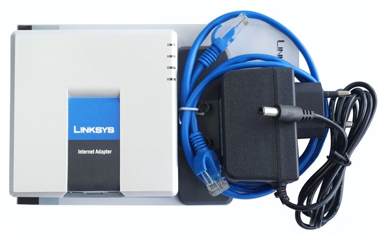 Fast shipping! firmware Unlocked Linksys PAP2T-NA PAP2T NA with US/EU/UK/AU power charger(China (Mainland))