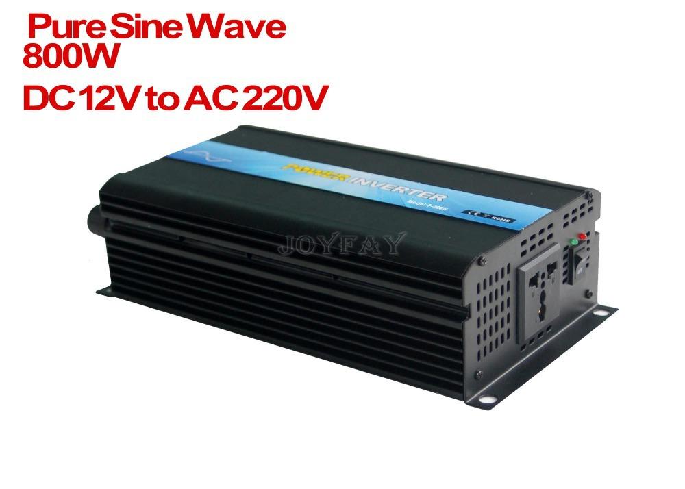 800W Pure Sine Wave DC 12V to AC 220V Power Inverter<br><br>Aliexpress