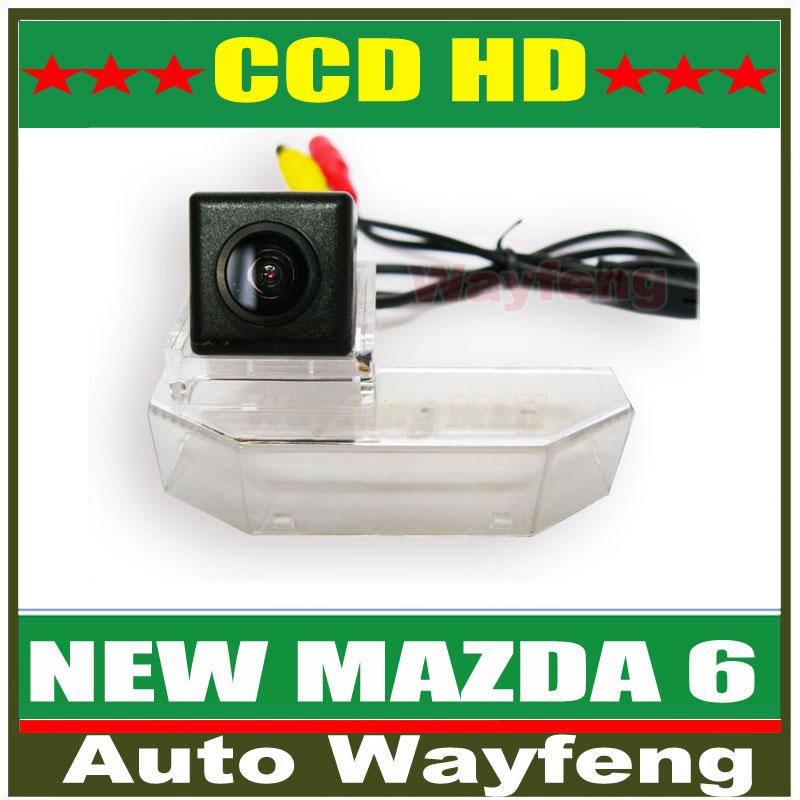 Car Rear View Reverse Backup Camera NEW MAZDA6 Car Rear View Reversing HD CCD back up Camera for 2009 Mazda 6 Sedan , RX-8 WF(China (Mainland))