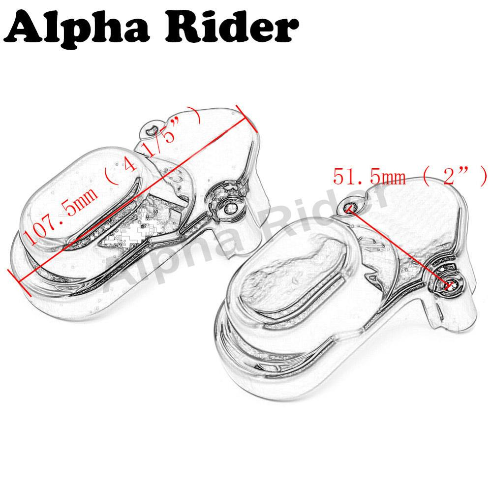 ABS Bar & Shield Rear Wheel Axle Cover Kit for Harley 48
