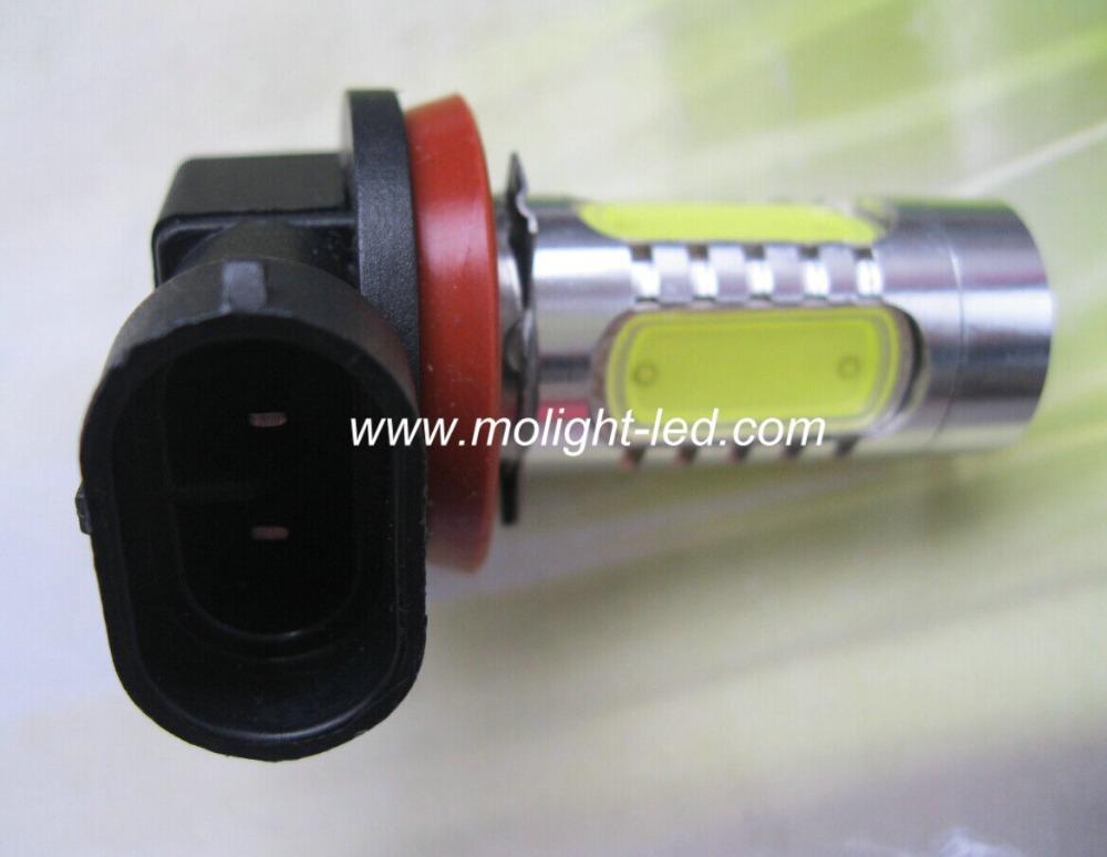 2PCS H8 Lamp 11W Fog Lamp Light LED Auto Car Light Pure White DC 12V 24V<br><br>Aliexpress