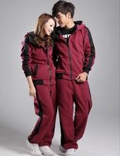 2PC/Sets-new men suit!korean fashion sets Jacket and sweatshirt sportswear set suits cotton Hoodies and Pants man's clothing set(China (Mainland))