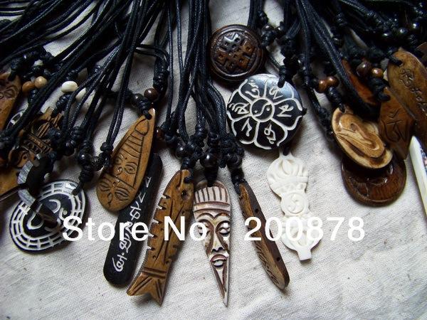 Aliexpress.com : Buy MW 01 Best Wholesale Price For Tibetan Yak Bone carved Amulet Totem Pendant