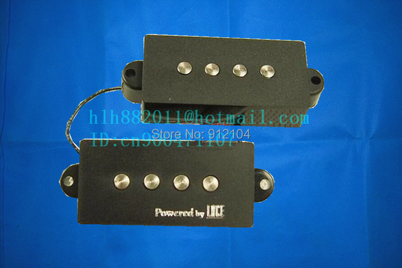 free shipping new 4 strings electric bass guitar pickup in black made in South Korea LA-8157(China (Mainland))