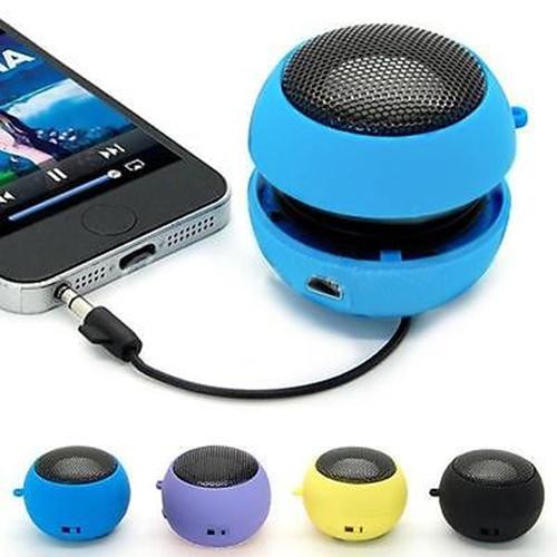 Sale Promption! Mini Portable Hamburger Speaker Amplifier For iPod for iPad Laptop for iPhone Tablet PC 6 Colors Speaker 8KJ(China (Mainland))