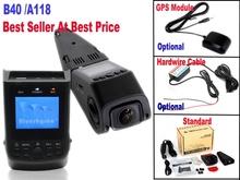 Free Shipping!Blueskysea DVR B40 A118 Novatek 96650 AR0330 6G 140 degree Lens H.264 1080P Mini Car Dash Camera DVR
