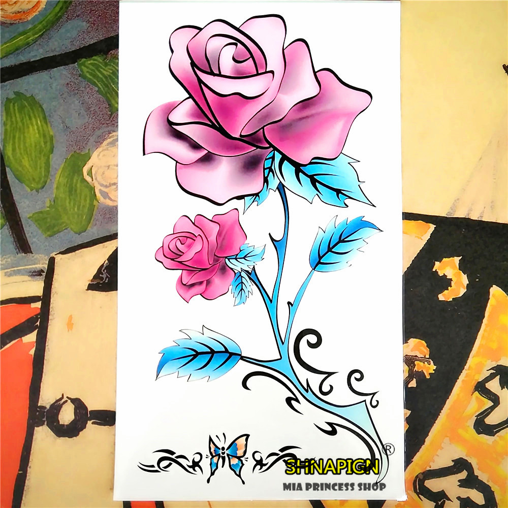 Popular arm bouquet buy cheap arm bouquet lots from china for Painless permanent tattoos