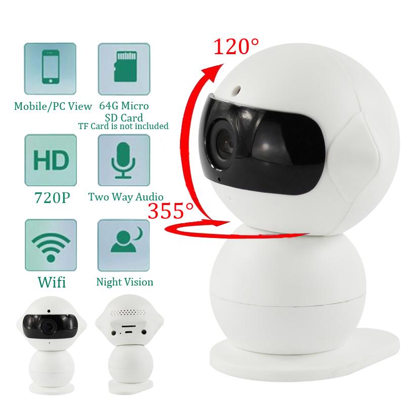 Wireless Indoor 1.3MP HD WIFI IP Camera Alarm Home Security IP Security Camera WiFi Camera Baby Monitor night vision(China (Mainland))