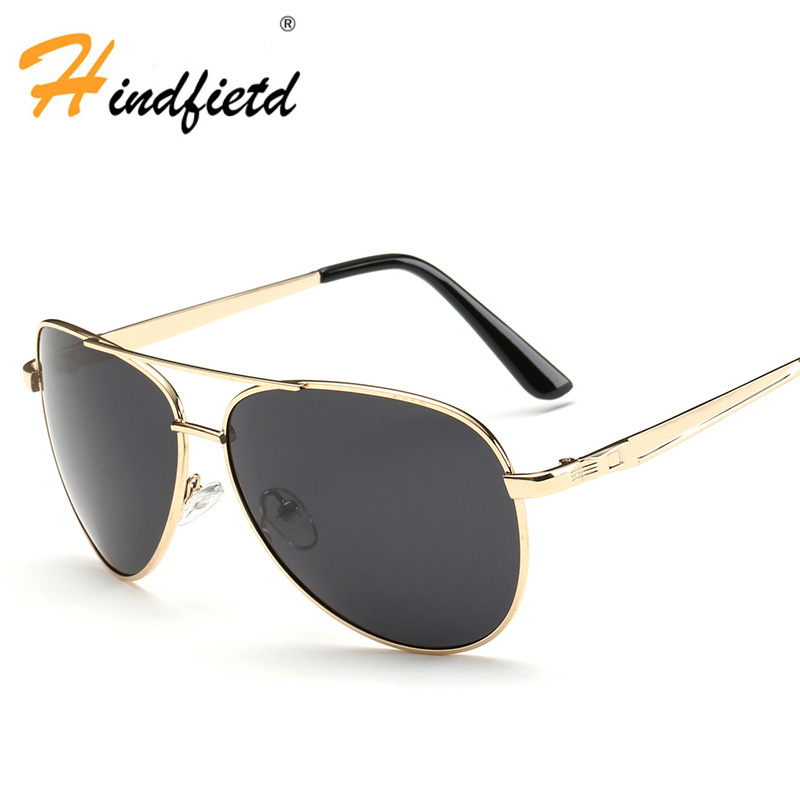 Men Fashion Sunglasses HD Polarized Goggle Metal Frame Drive Glasses New Crafts Leisure Sunglasses High Quality Sunglasses(China (Mainland))