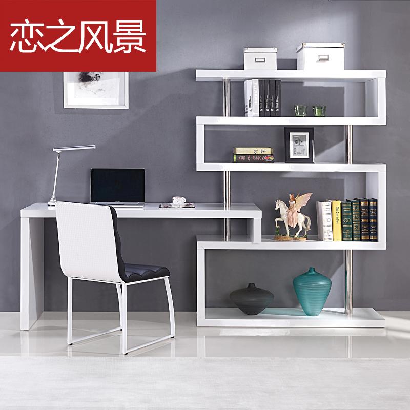 paint shelves corner desk desktop home computer desk in computer desks