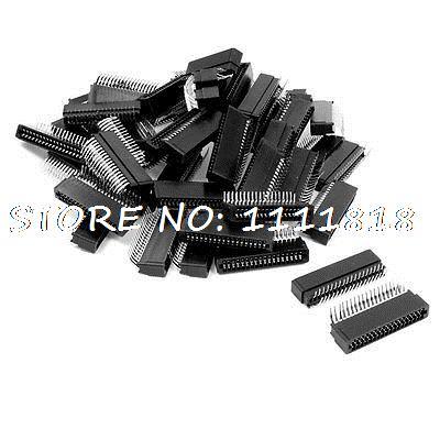 50 Pcs 2.54mm Pitch 2x18 Pin Dual Rows Angle IDC Box Connector Headers 36 Pins(China (Mainland))