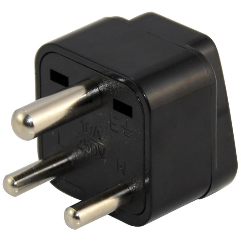 Brand New High Quality Universal Power Plug Adapter AU US EU UK To Small South Africa Plug For Travel(China (Mainland))