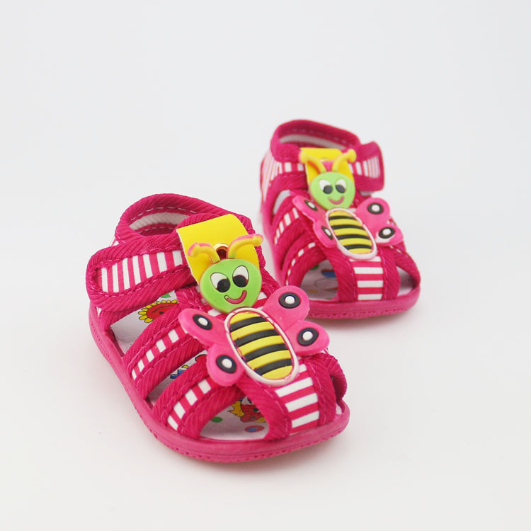 cartoon baby shoes girls shoes breathable baby toddler shoes girls first walkers soft sole princess sandals