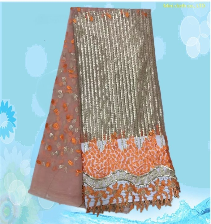 2015 hot Saleing Lace Trim free Shipping!2015 High Quality African cord lace,Colorful Printed Lace of women dress