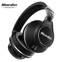 Bluedio U(UFO) Plus High-End Wireless Bluetooth headphones PPS12 drivers wireless headset over the earphones with microphone(China (Mainland))