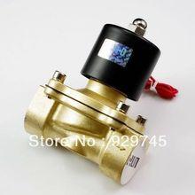 "Water Air Gas Fuel NC Solenoid Valve 3/8"" BSPP 12V DC 2W-10(China (Mainland))"