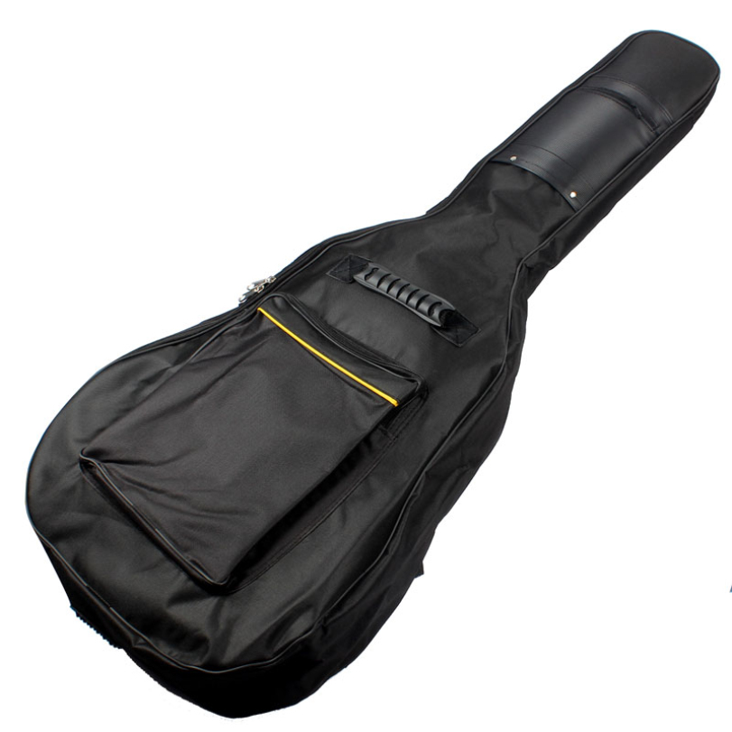 Hot-sale Guitar Accessory Gifts Wholesale High Quality Acoustic Guitar Double Straps Padded Guitar Soft Case Gig Bag Backpack(China (Mainland))