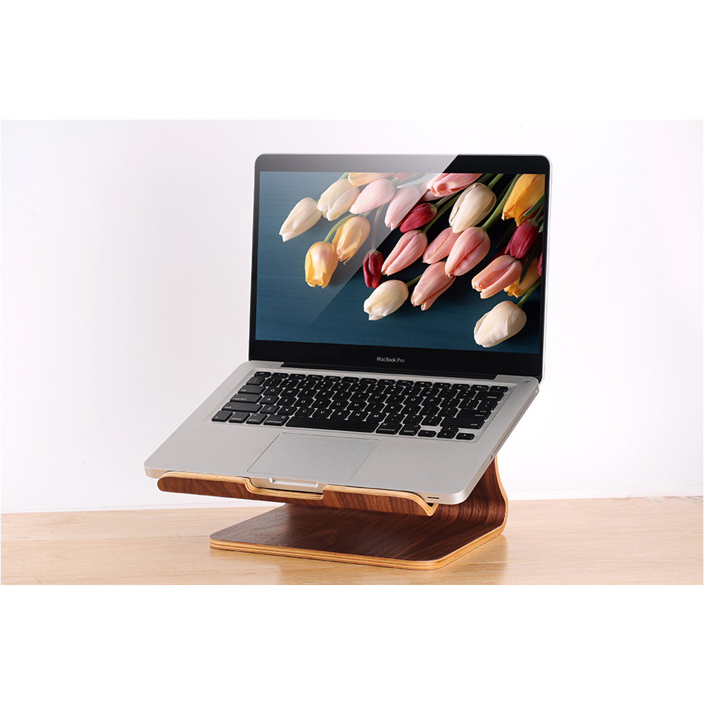 Fashion New Design Wooden cooler Laptop Stand for Macbook air pro retina for all Notebook Holder Top Quality<br><br>Aliexpress