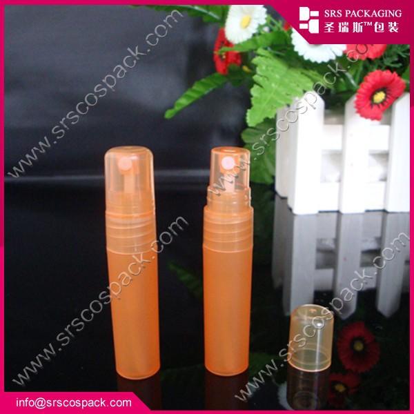 Small plastic perfume bottle , manufacturer wholesale plastic cheap 5ml mini perfume container(China (Mainland))