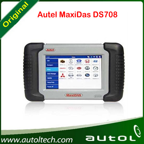 Autel MaxiDAS DS 708 Scanner With One Year Warranty Update Online(China (Mainland))
