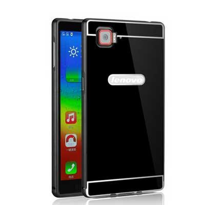 New Sensation Lenovo k920 case Quality of high quality metal frame acrylic cover Back cover for