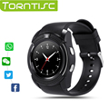 New Original Blutooth Smart Watch V8 Support SIM TF Card Pedometer Remote Camera Messaging Anti lost