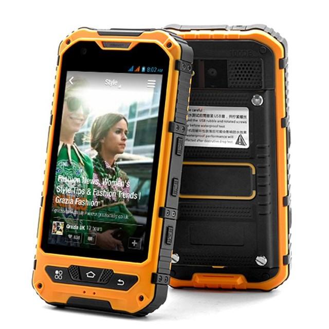 Оригинальный Мобильный Телефон MTK6572 Dual Core Dual SIM Новый A8 1 ГБ RAM IP68 Прочный Водонепроницаемый Мобильный Телефон Противоударный 3 Г GPS A9 V9D v9