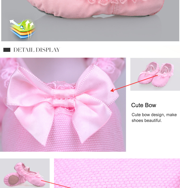 New Ballet Dance Yoga Gymnastics Canvas Slipper Shoes