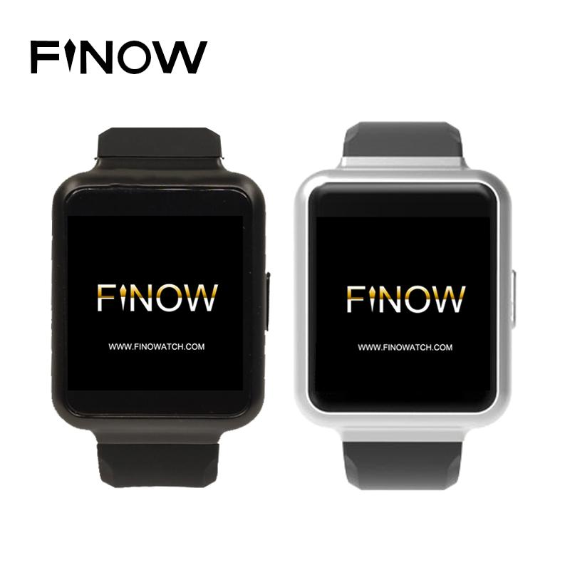 "Finow Q1 Smart Watch K8 Upgraded Version Android 5.1 RAM 1GB ROM 8GB 1.54"" Display WiFi GPS 3G Bluetooth Nano Sim Smartwatch(China (Mainland))"
