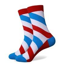 Free Shipping combed cotton brand men socks colorful dress socks 5 pair lot