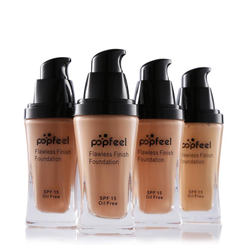 New 4 Color SPF15 No Oil Base Foundation Isolation BB CC Cream Corretivo Face Makeup Liquid Concealer Primer Cosmetic Maquiagem(China (Mainland))