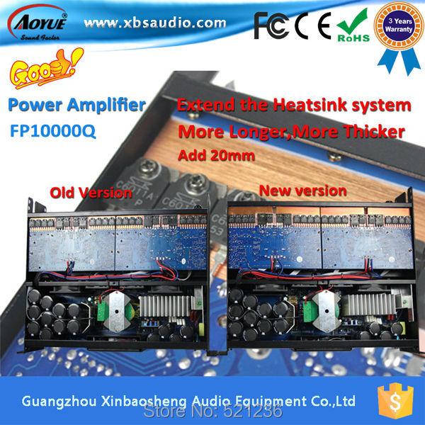 New fashion lab gruppen FP10000Q 4 Channels 2000w amplifier