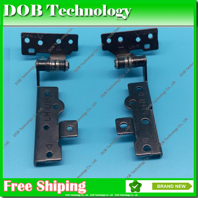 Original Laptop LCD/LED hinges for Asus Eee PC 1215 1215n 1215T 1215BT 1215b 1215N 1215P Display Screen Left&Right hinge Axis(China (Mainland))