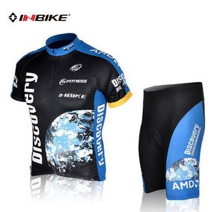 INBIKE jersey short sleeve riding suit riding pants the COOLMAX silicone pad riding equipment