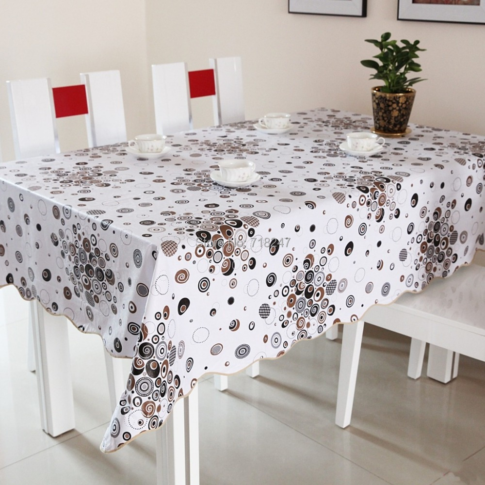 buy hot high quality 152cm square pvc printed table cloth covers plastic. Black Bedroom Furniture Sets. Home Design Ideas