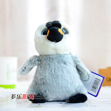 Super cute big eyes penguin End of a single big eyes penguin baby doll artificial animal plush gift 17cm