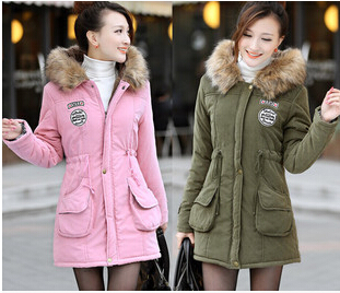Compare Prices on Parka Green Fur Pink- Online Shopping/Buy Low ...