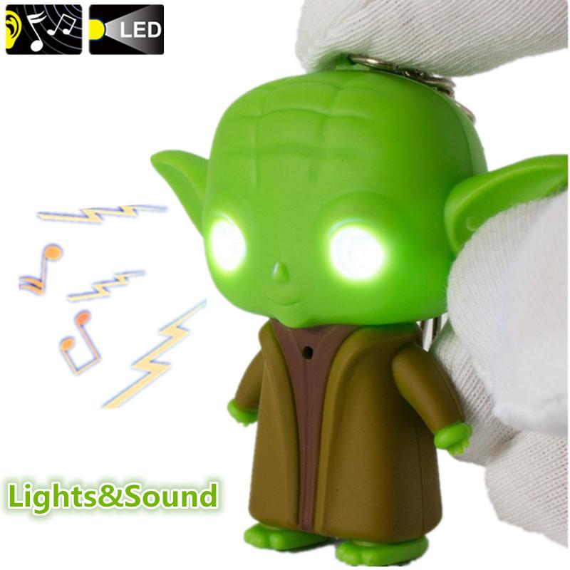 Online Get Cheap Star Wars Maître Yoda Aliexpresscom  Alibaba Group -> Jedi Led Lampe